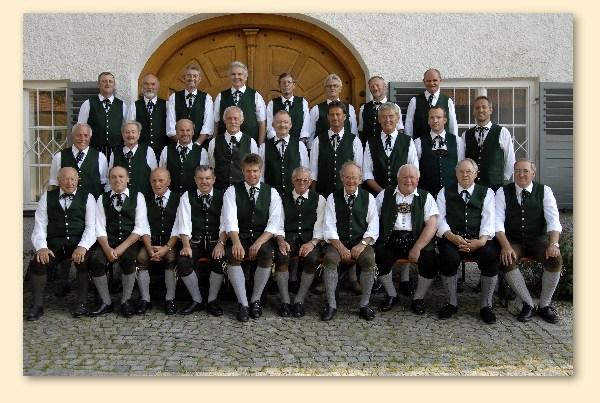 Schloss-Serenade des Männerchores Grabenstätt